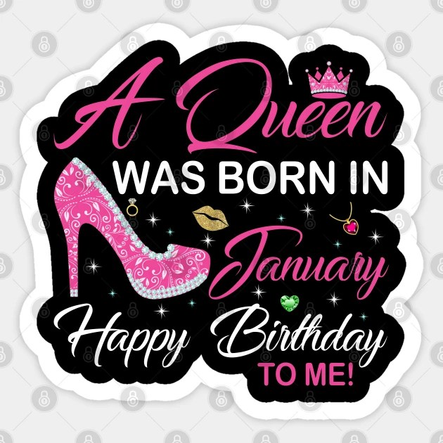 photo January Birthday Images a queen was born in january happy