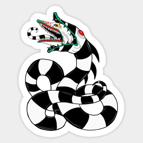 sandworm - sticker