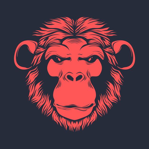 ape monkey chimp cartoon