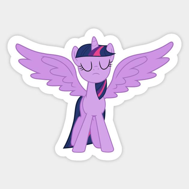 Triumphant Princess Twilight Sparkle Twilight Sparkle Sticker Teepublic