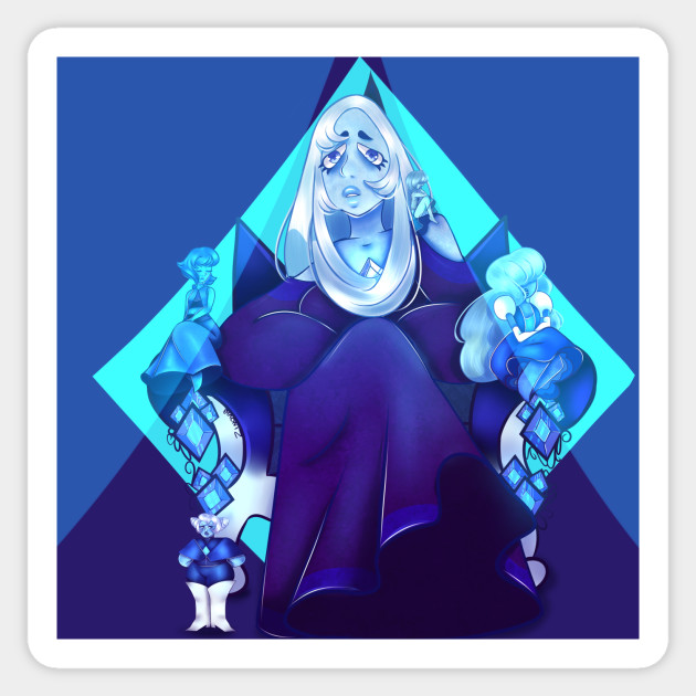blue diamond and her