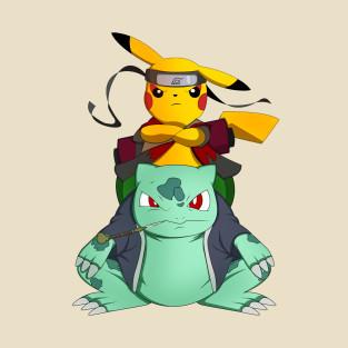 Pikuto! T-Shirt Pikachu Ninja Shirts
