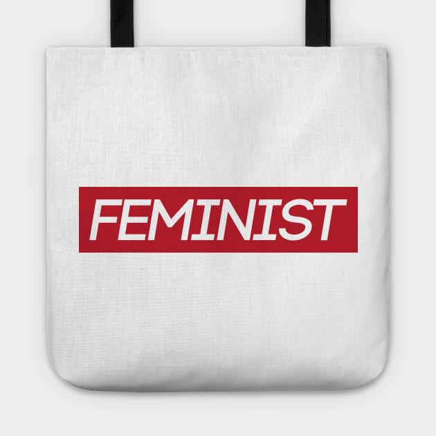 red feminist logo