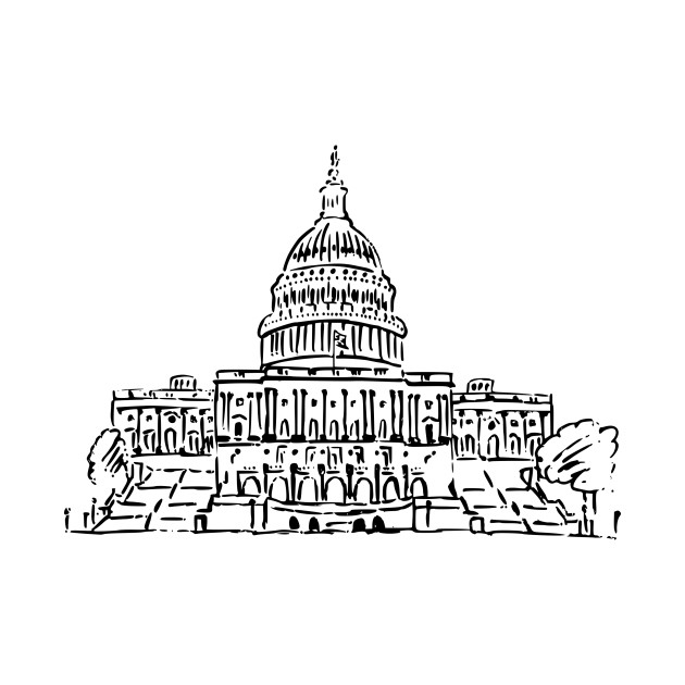 LIMITED EDITION. Exclusive US Capitol Building Drawing