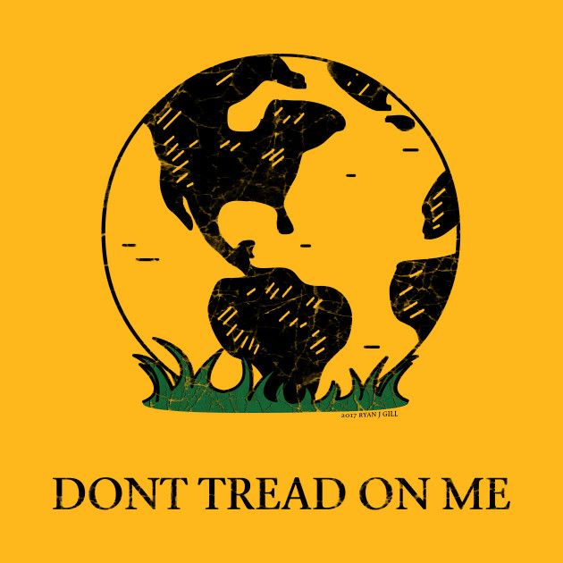 earth gadsden flag don