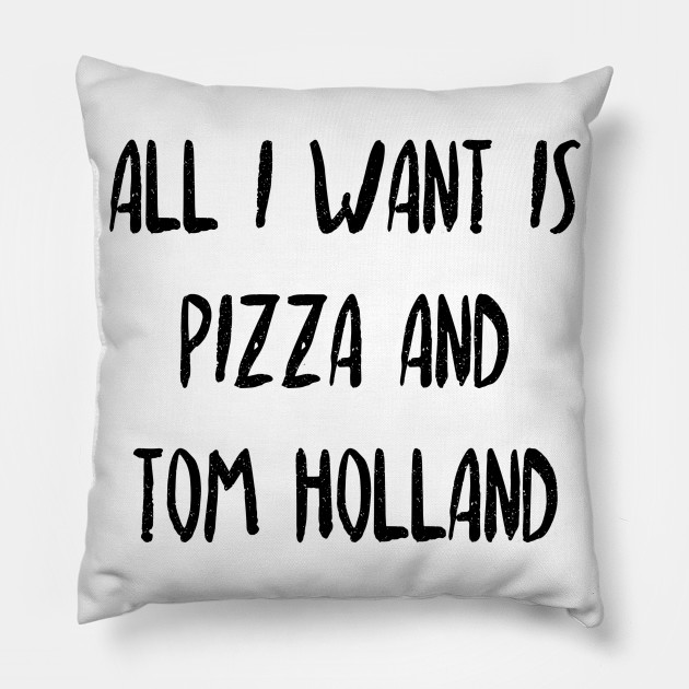 pizza and tom holland
