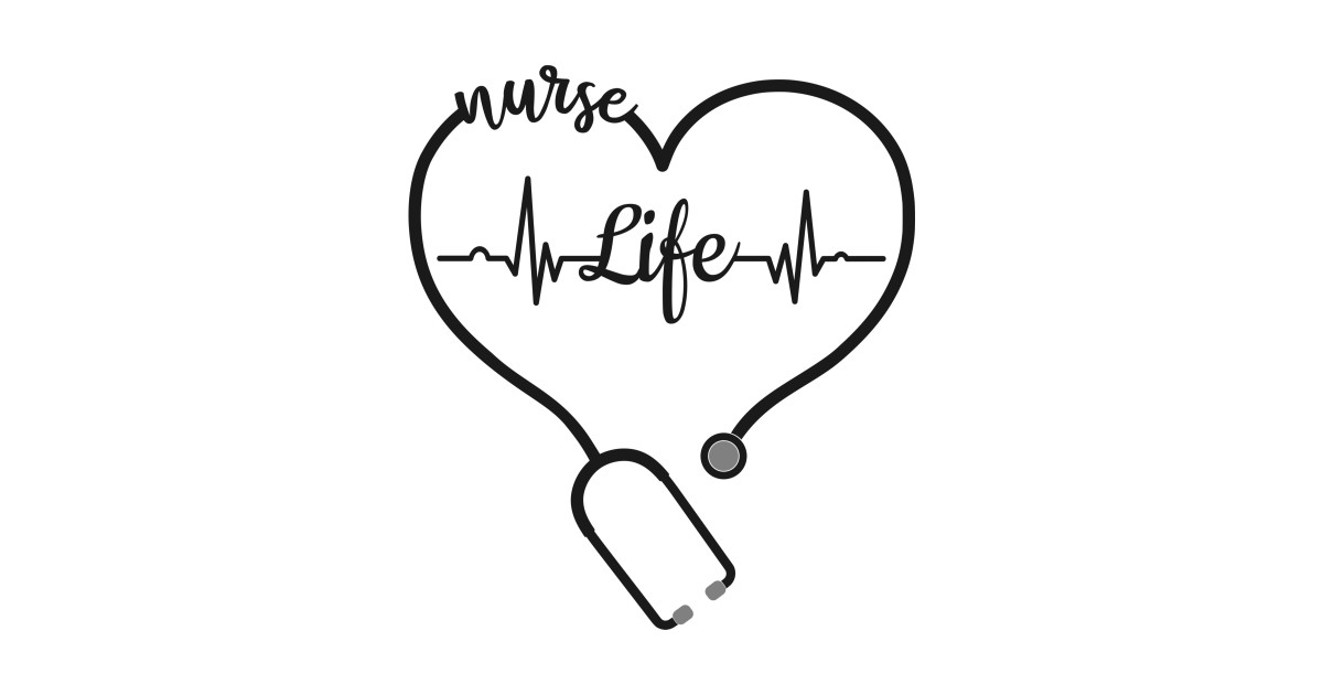 Nursing Gifts for Nurses Stethoscope I Love the Nurse Life