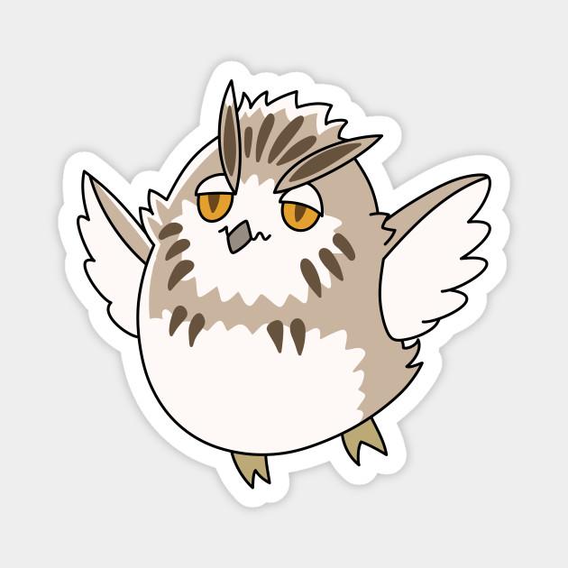 chibi owl bokuto