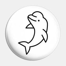 Beluga Whale Icon Beluga Whale Pin TeePublic