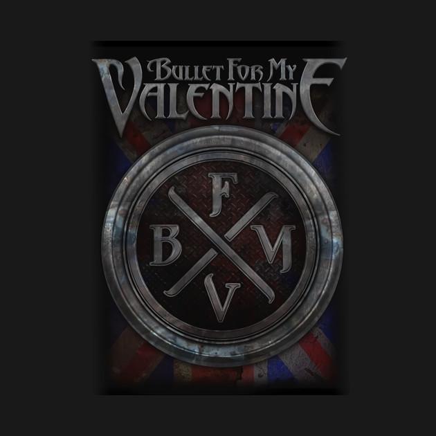 Bullet For My Valentine BFMV Logo Logo Circle T Shirt