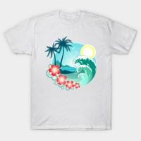 Hawaiian Island - Hawaii - T-Shirt | TeePublic