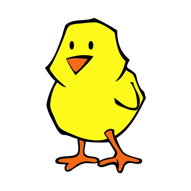 baby chicken yellow chick