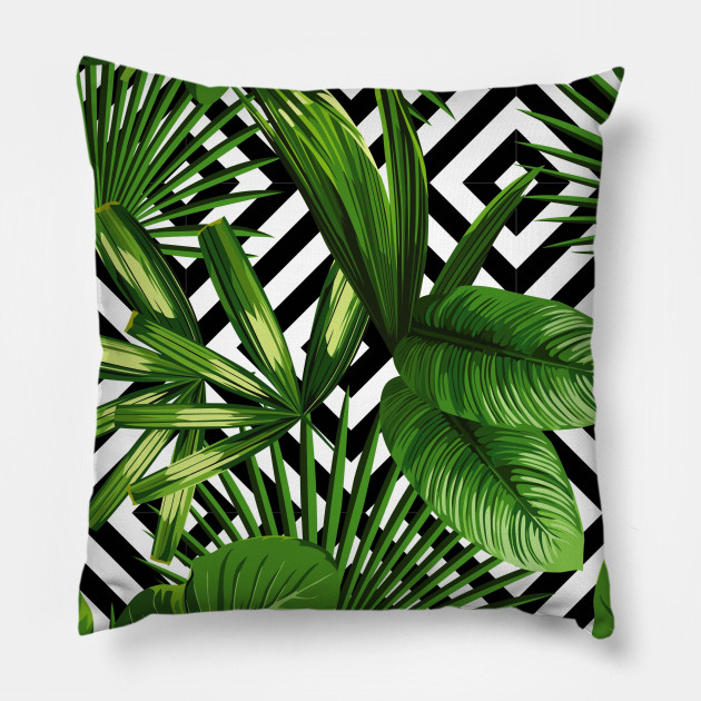 tropical jungle print