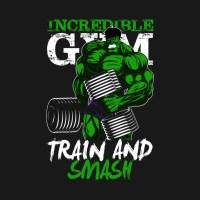 Hulk's GYM - Crewneck Sweatshirt | TeePublic