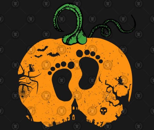 Halloween Pregnancy Announcement Maternity Baby Feet Halloween Pregnancy Announcement Maternity Baby Feet