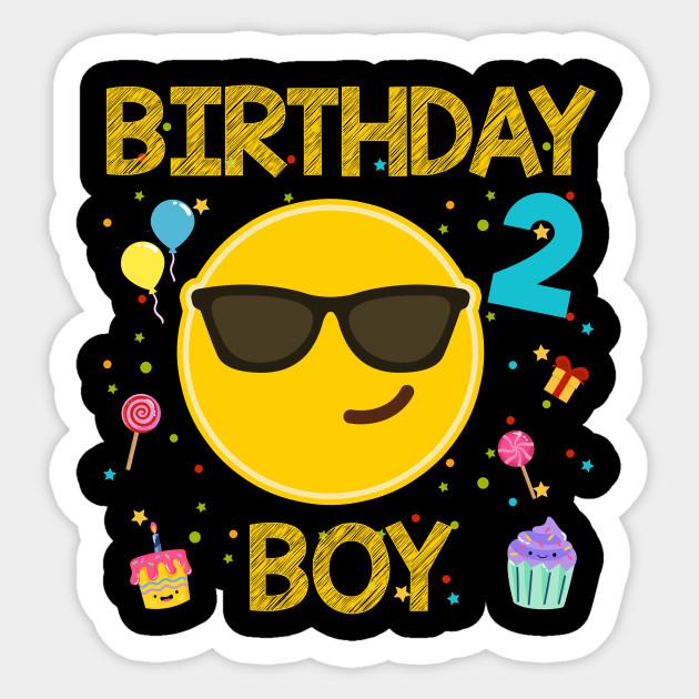 kids emoji 2nd birthday