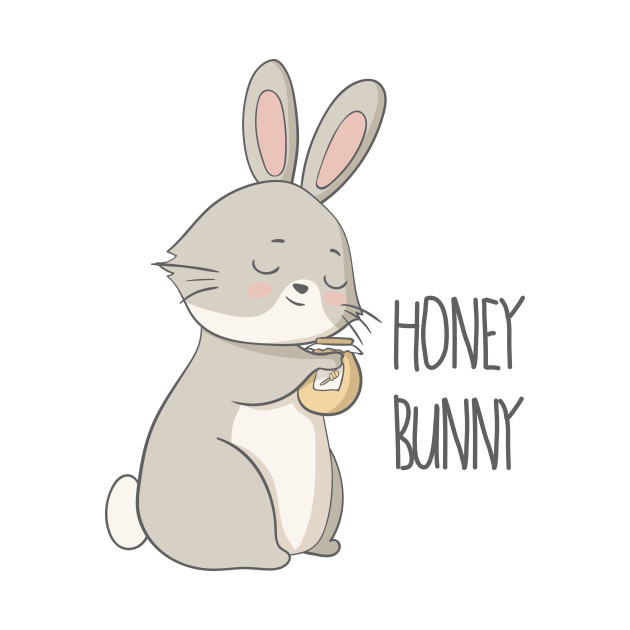 honey bunny cute rabbit