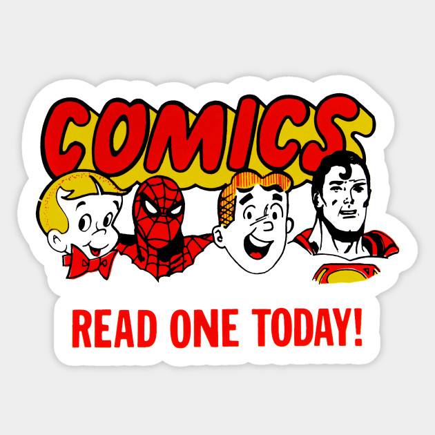 vintage comic stand logo