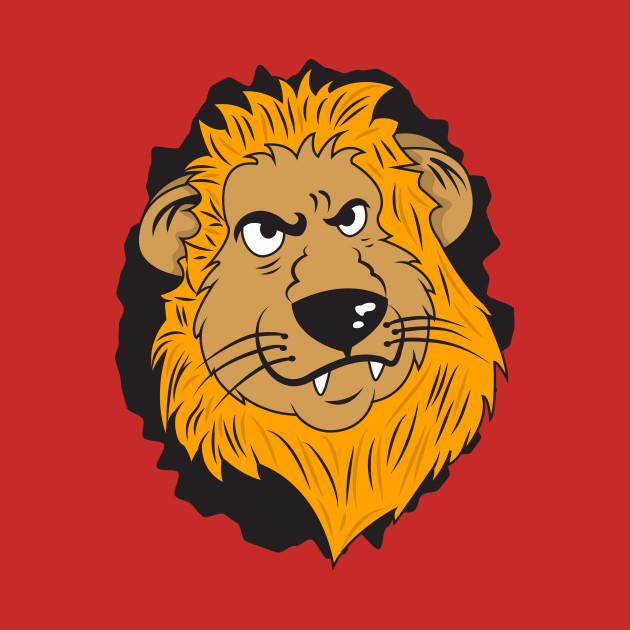 angry lion head angry