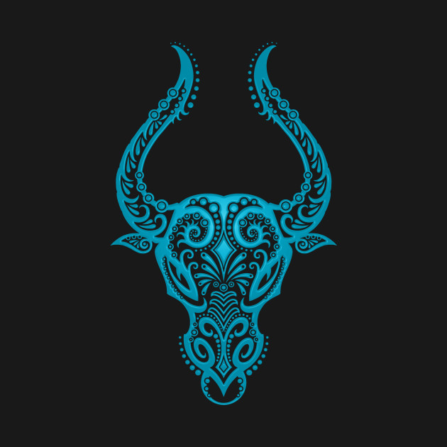 blue taurus zodiac sign