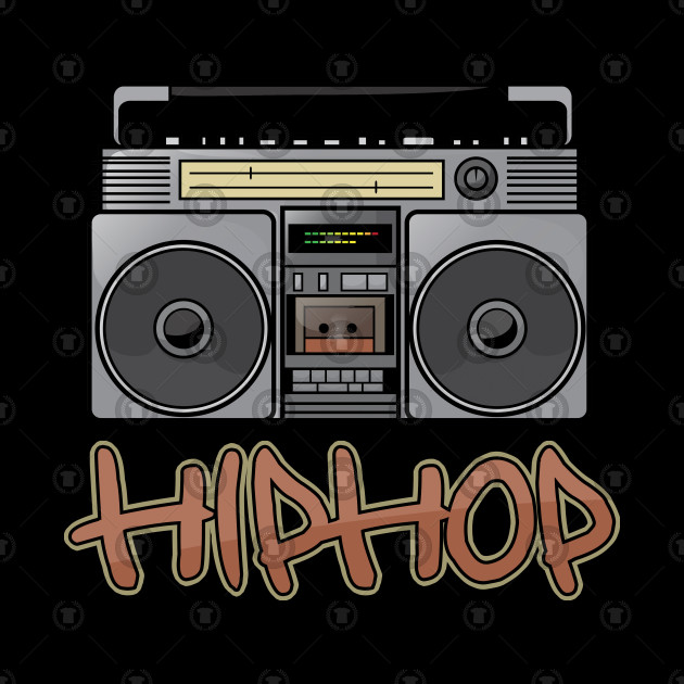hiphop boombox stereo rappers
