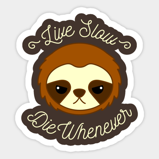 funny sloth live slow
