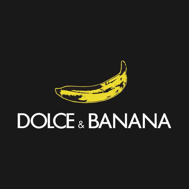 Dolce And Banana Black Dolce And Gabbana T Shirt
