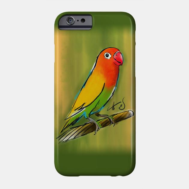 fischer lovebird illustration