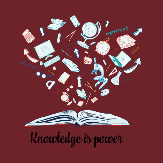 knowledge is power literary