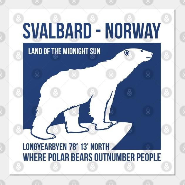 svalbard norway polar bears