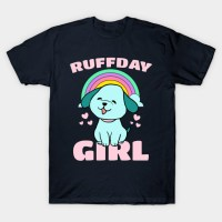 Ruffday Girl - Happy Birthday Girl Puppy Dog Hearts ...