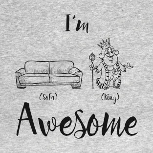sofa king awesome t shirt vw camper van bed shirts teepublic i m