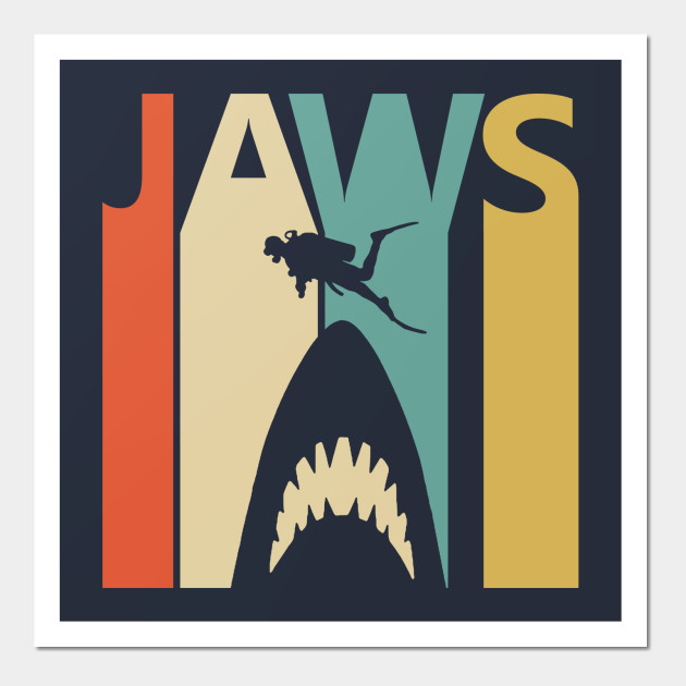classic retro jaws