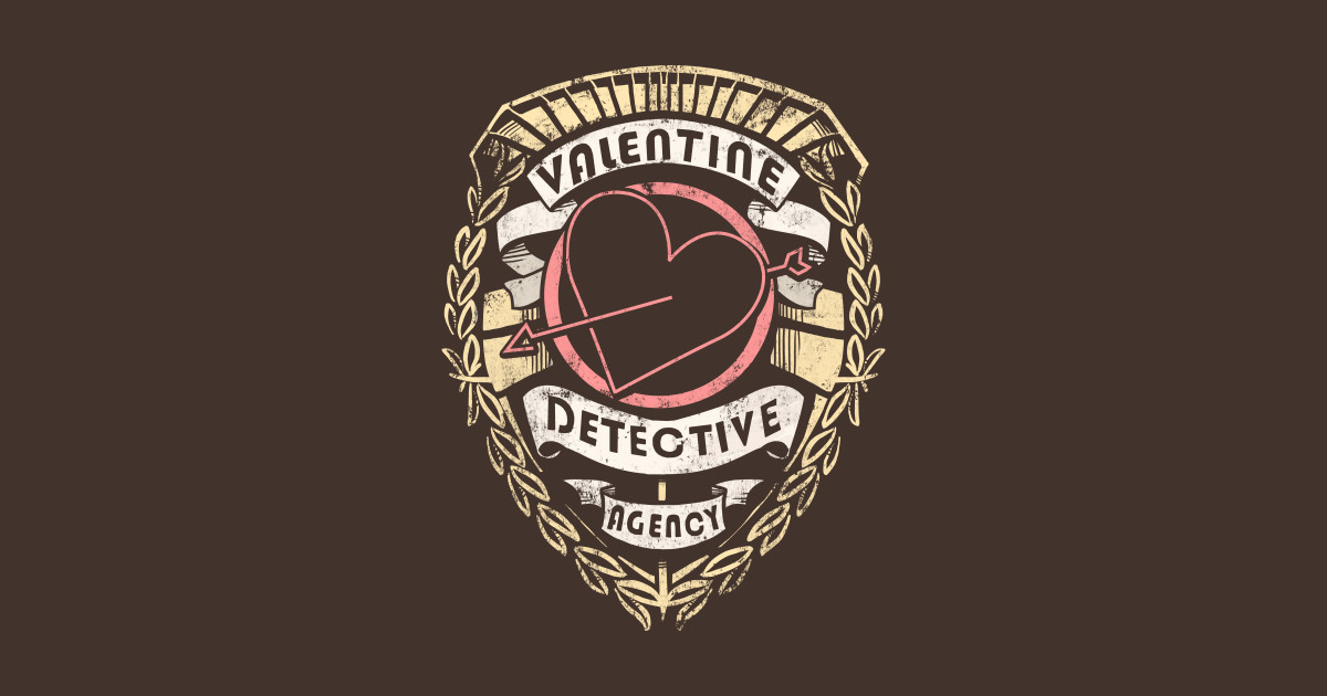 Valentine Detective Agency Valentine T Shirt TeePublic