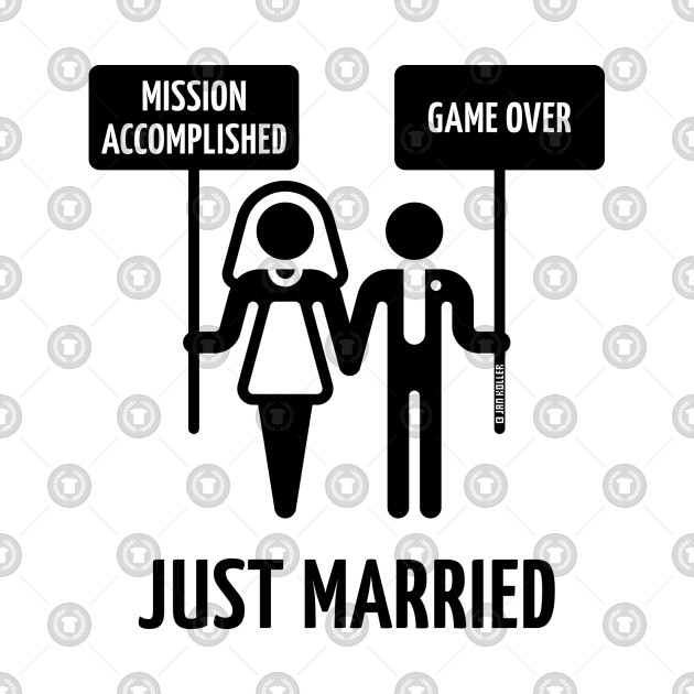 just married mission accomplished