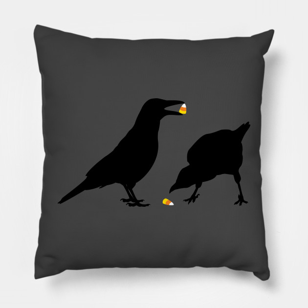 halloween candy corn crows