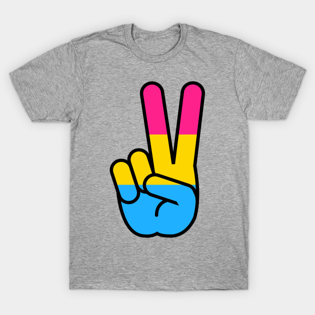 pansexual peace sign