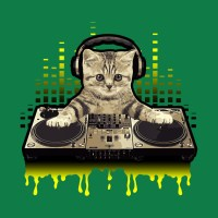 Cool Cat DJing Scratching by Basement Mastermind - Music ...