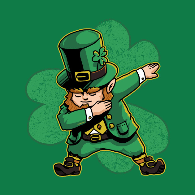 Image result for leprechaun dabbing