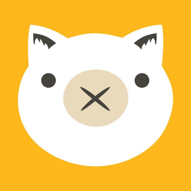 Roadhog Piggy Icon Minimalist T Shirt TeePublic