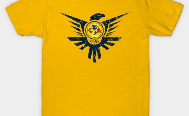 Club America Las Aguilas T Shirt Teepublic