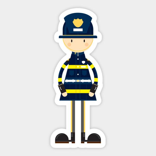 cute cartoon fireman