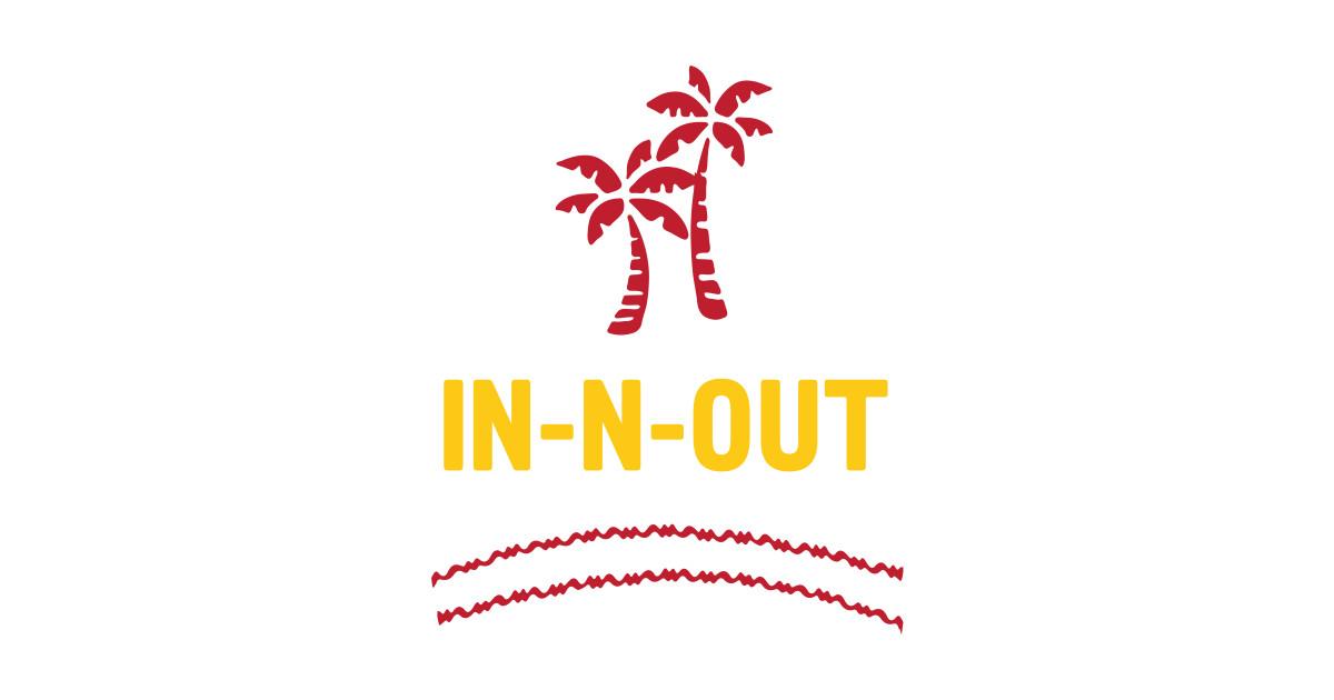 InnOut  Palm Trees  TShirt  TeePublic