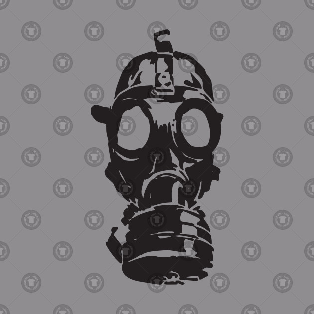gas mask sign of