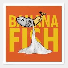 banana fish posters and