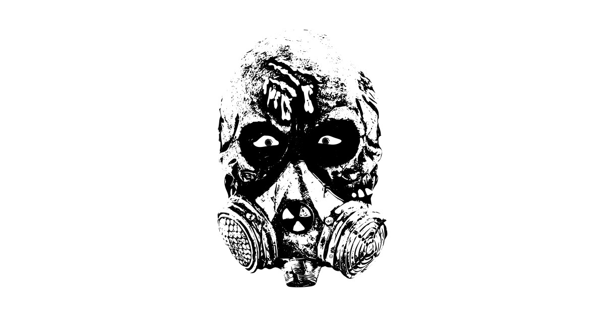 horror heads gas mask