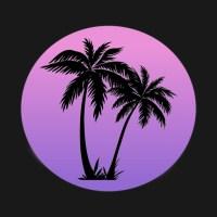 Vaporwave Palm Tree Design - Vaporwave Aesthetic ...