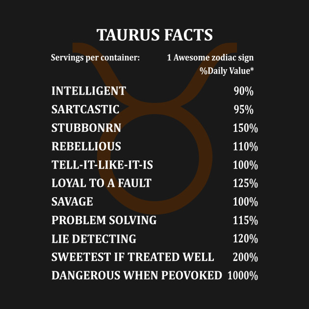 taurus facts besby halastore