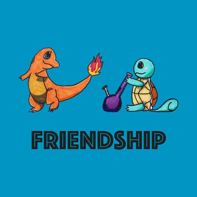 funny pokemon friendship shirt
