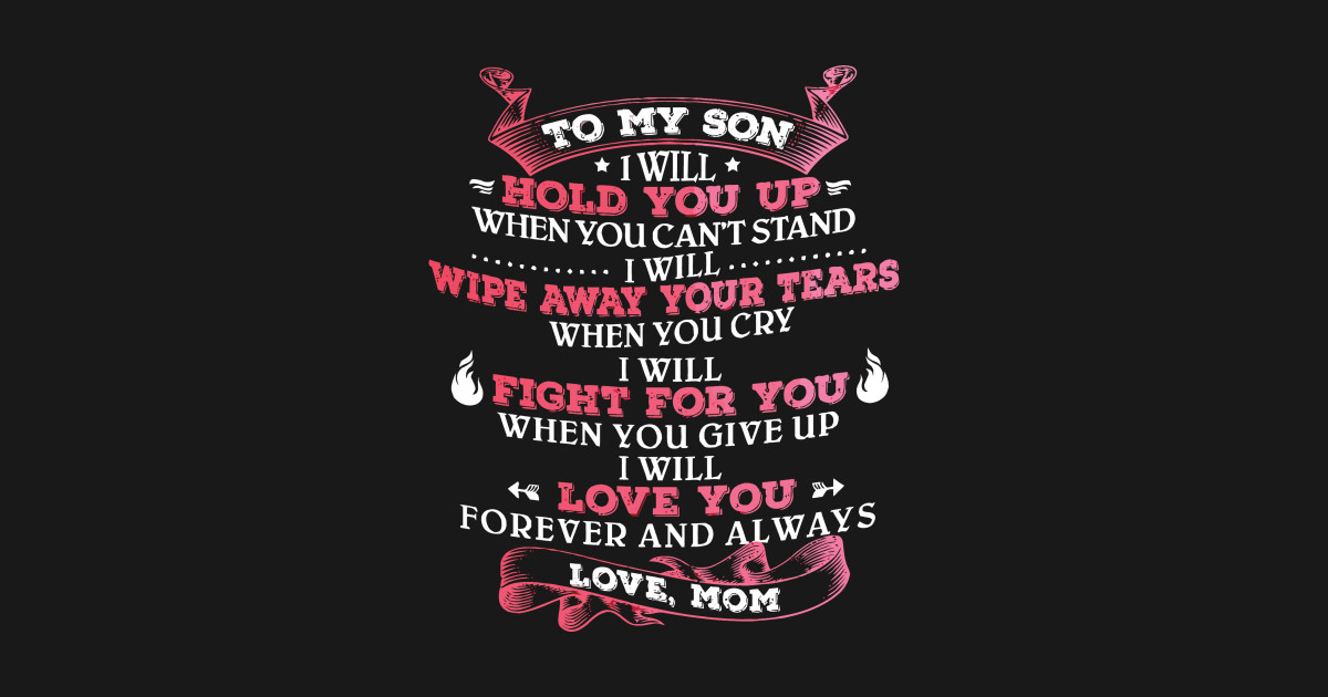 son and mom t
